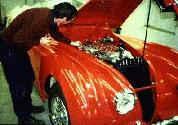 1955 Jaguar XK140 MC Roadster