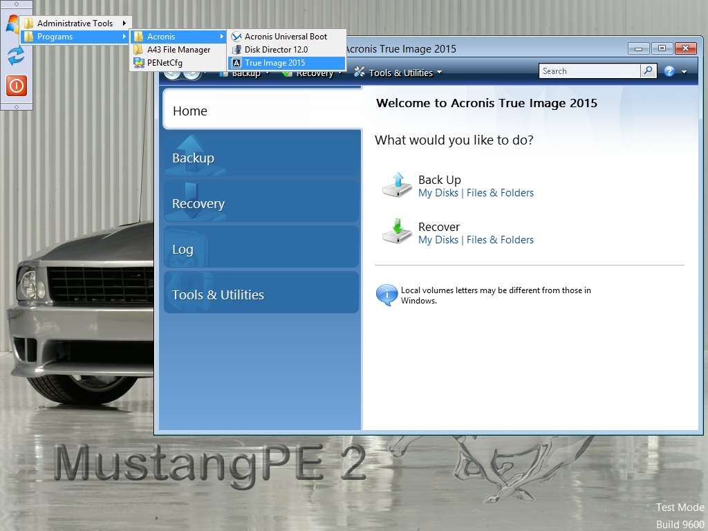 MustangBEBuilder 2 ADK 64 LaunchBar True Image 2015 Screenshot